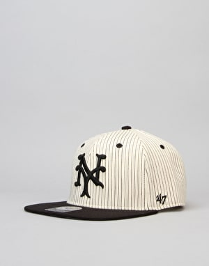 '47 Brand MLB New York Giants Woodside Captain Snapback Cap - Red