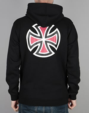 Independent Bar Cross Pullover Hoodie - Black
