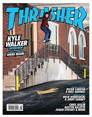 Thrasher Magazine Issue 433 August 2016