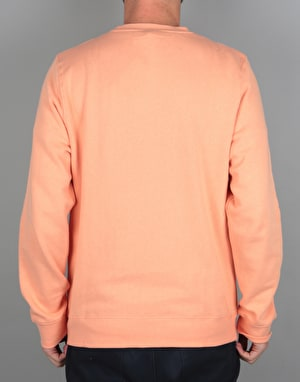 Stüssy New Stock Applique Crew - Pale Salmon