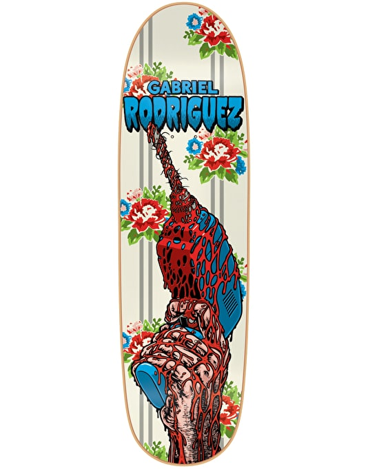 101 Gabriel Drill Silk Screened Ltd Edition Pro Deck - 8.9""