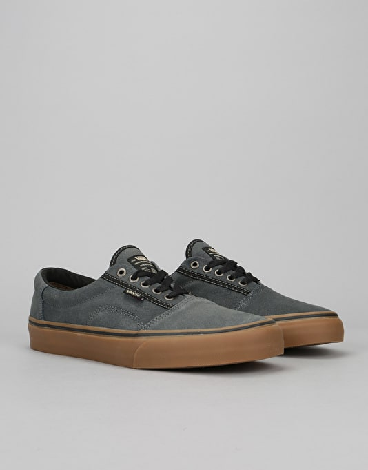 Vans Rowley Solos Pro Skate Shoes - (XTuff) Black/Gum