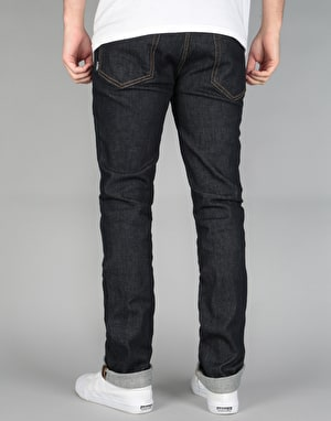 Etnies E2 Straight Denim Jeans - Indigo Raw