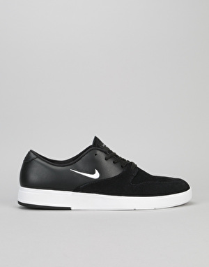 Nike SB Paul Rodriguez X Skate Shoes - Black/White