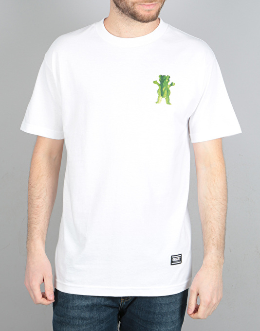 Grizzly Plant Life T-Shirt - White