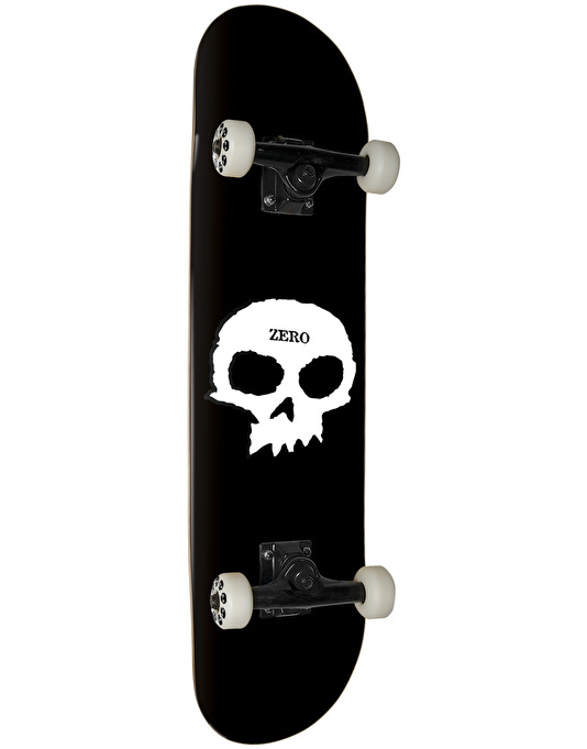 Zero Single Skull Complete Skateboard - 8""