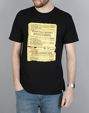 Altamont x Sub Pop Letter T-Shirt - Black