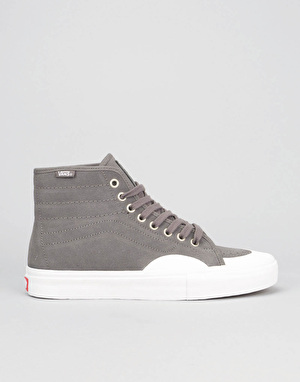 Vans AV Classic High Skate Shoes - (Rubber) Pewter/White