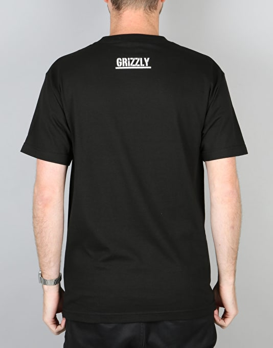 Grizzly Fiend Club OG T-Shirt - Black