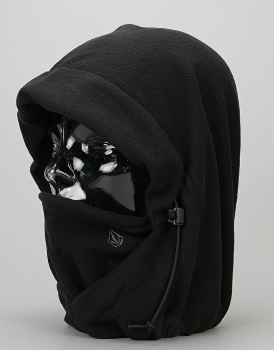 Volcom Travelin' Hood Thing Facemask - Black