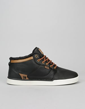 Etnies Jefferson Mid LX Skate Shoes - Black/Brown