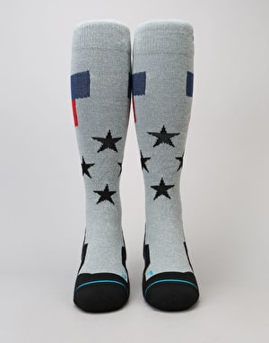 Stance Tomcat 2017 Snowboard Socks - Grey Heather