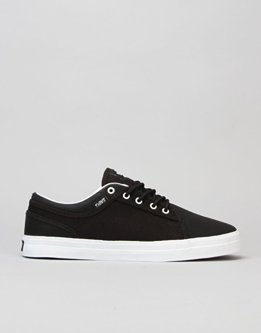 DVS Aversa Skate Shoes - Black/Black White
