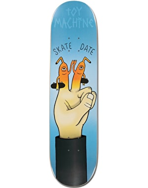 Toy Machine Skate Date Team Deck - 8