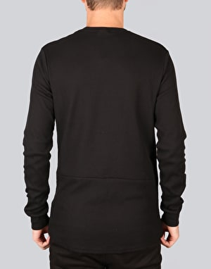 Nike SB Long-Sleeve Thermal T-Shirt - Black/Black