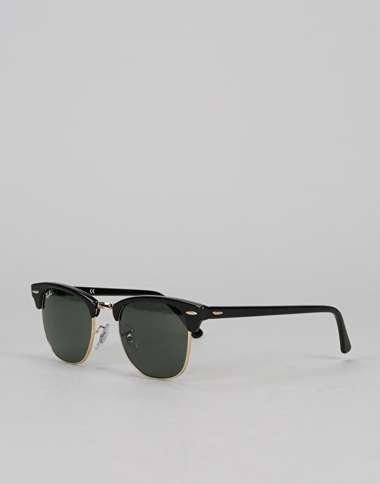 ... Ray-Ban Clubmaster - Black Green Classic G-15 Lens RB3016 W0365 ... 3be98f5cb9e0