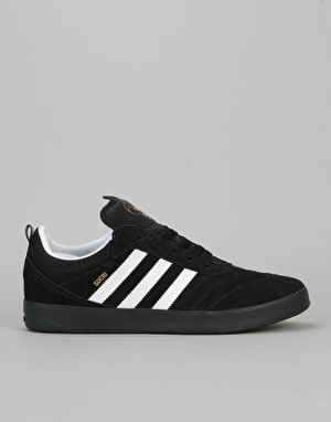Adidas Suciu ADV Skate Shoes - Core Black/Ftwr White/Gold Met
