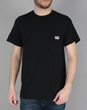 Ben Davis Classic Patch Logo Pocket T-Shirt - Black