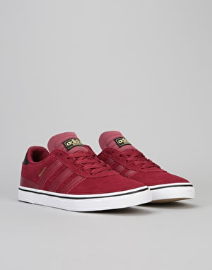 Adidas Busenitz Vulc Skate Shoes - Collegiate Burgundy/Black/White