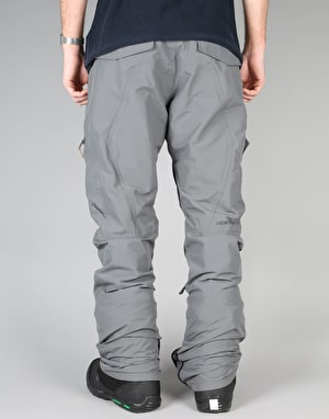 Sessions Self Titled 2017 Snowboard Pants - Pewter