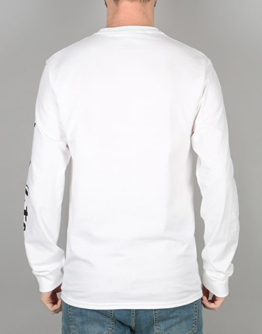 Chocolate Chunk & Square L/S T-Shirt - White