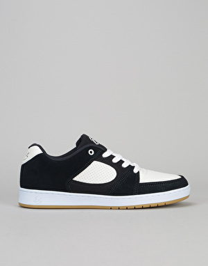 éS Accel Slim Skate Shoes - Navy/White