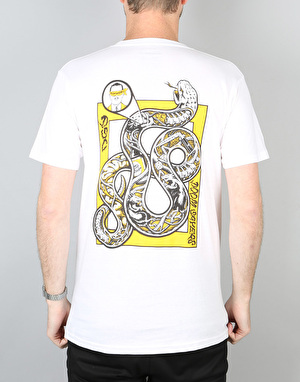 Doom Sayers Snake Anatomy T-Shirt - White