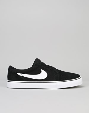 Nike SB Satire II Skate Shoes - Black/White