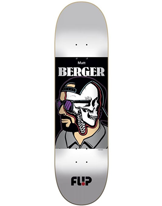Flip Berger Every Which Way Skateboard Deck - 8.04""