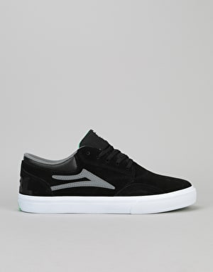 Lakai x Girl Griffin Skate Shoes - Black Suede