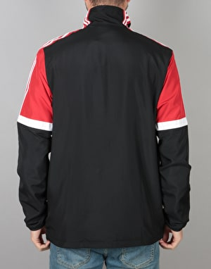 Adidas Neck Jacket - Black/Scarlet/White