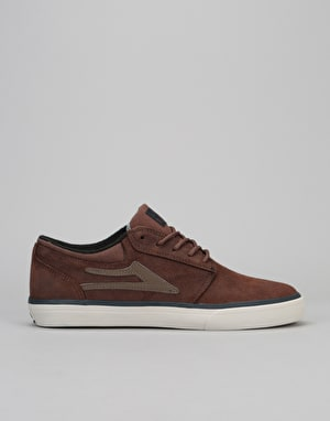 Lakai Griffin AW Skate Shoes - Brown Oiled Suede