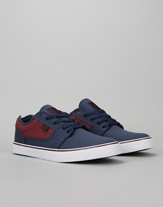 DC Tonik TX Skate Shoes - Navy