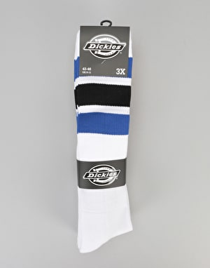 Dickies Atlantic City 3-Pack Knee High Socks - Blue