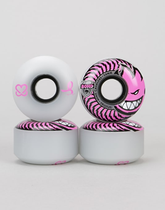 Spitfire Charger Pushing for Pink 80HD Team Wheel - 54mm
