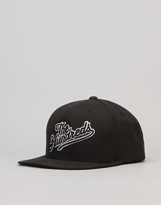 The Hundreds Slant Tail Snapback Cap - Black