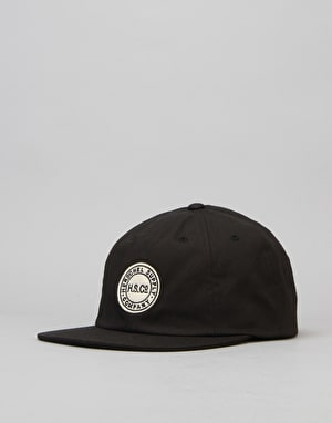 Herschel Supply Co. Glenwood Strapback Cap - Black