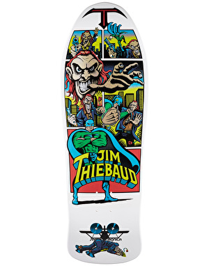 Santa Cruz x SMA Thiebaud Joker Reissue Pro Deck - 10