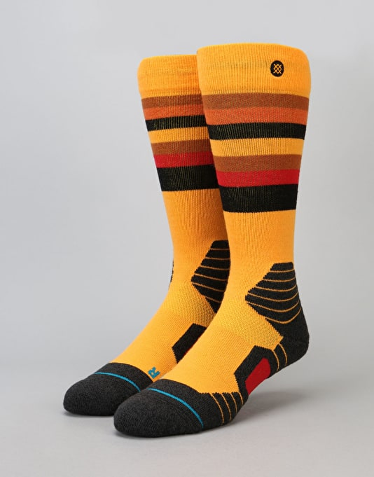 Stance Saw Mill 2017 Snowboard Socks - Yellow