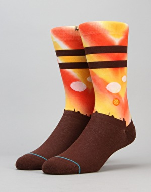 Stance x Star Wars Tatooine Socks - Orange
