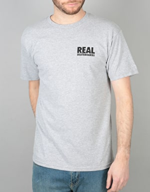 Real R T-Shirt - Athletic Heather