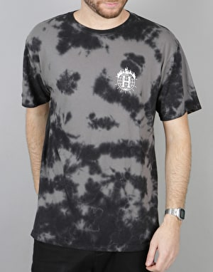 HUF x Thrasher TDS Crystal Wash T-Shirt - Black