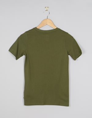 Nike SB Logo Boys T-Shirt - Legion Green/Palm Green
