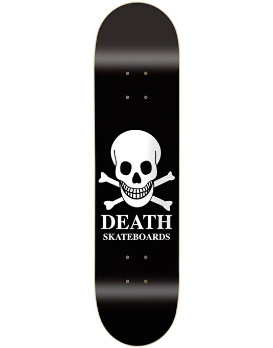 Death OG Skull Skateboard Deck - 9""