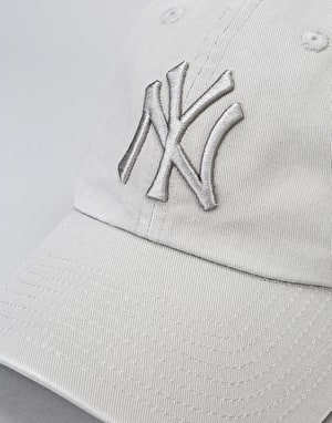 '47 Brand MLB New York Yankees Clean Up Cap - Vintage Grey