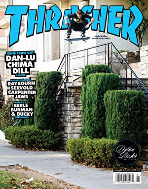 Thrasher Magazine Issue 438 January 2017 (Walker Cover)