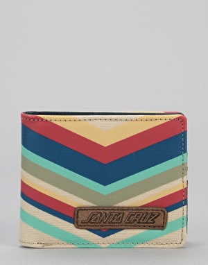 Santa Cruz Bower Wallet - Denim Stripe