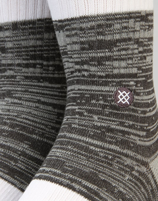 Stance Mission Classic Light Socks - Grey