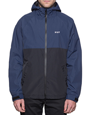 HUF Standard Shell Windbreaker Jacket - Blue