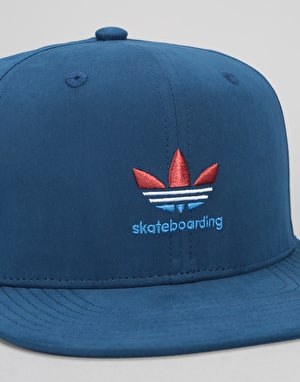 Adidas Skateboarding Nautical Snapback Cap - Mystery Blue